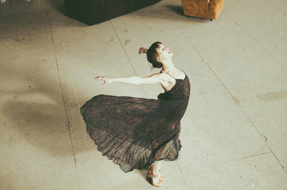 dancer ashley werhun shot by erika astrid