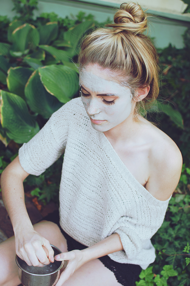 stark skincare campaign shoot by erika astrid