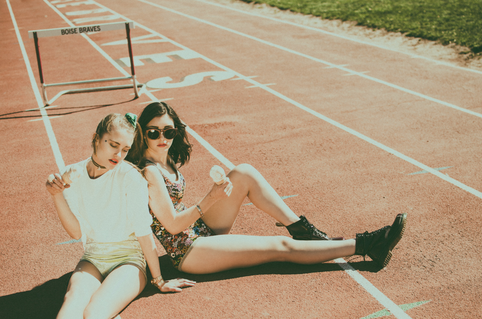fashion editorial with lily zimmer + sammie fuller by erika astrid