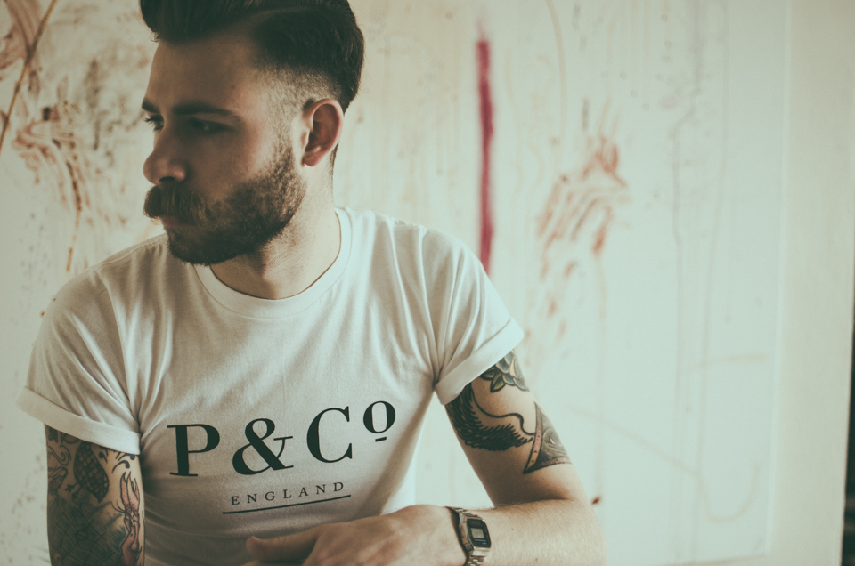 editorial shoot with chris taylor for p & co by erika astrid