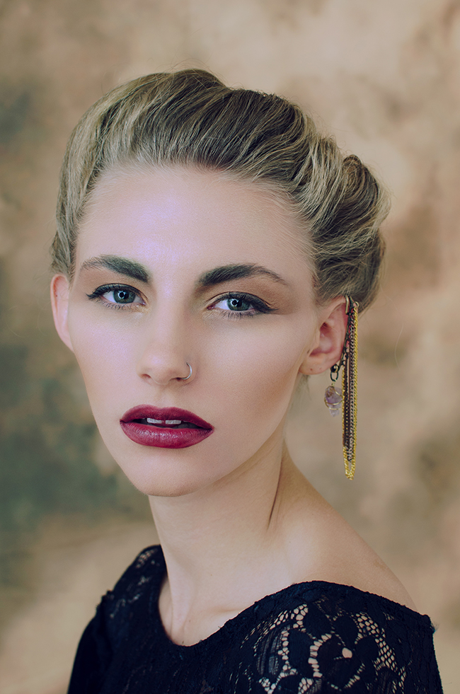 beauty editorial by erika astrid